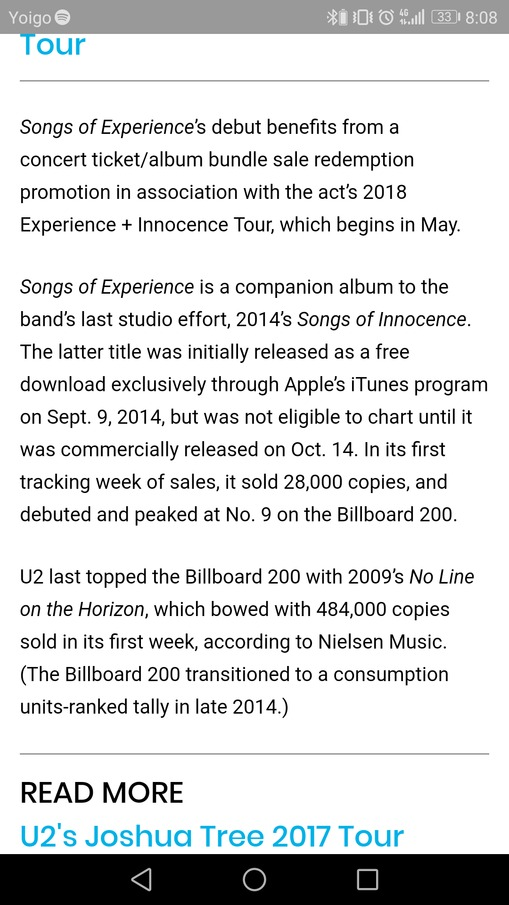 U2start com | Songs Of Experience - General album discussions
