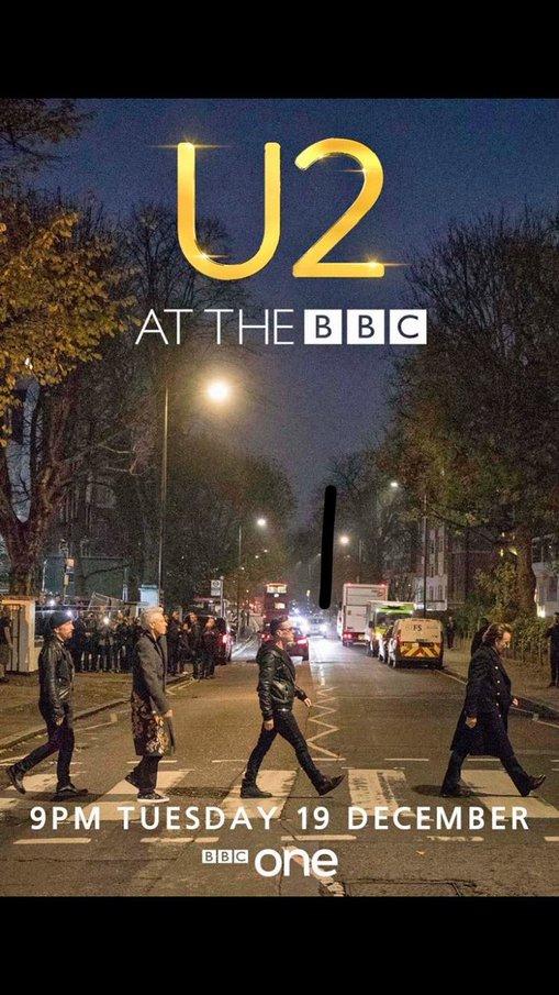 U2start com | U2 at the BBC / Abbey Road special