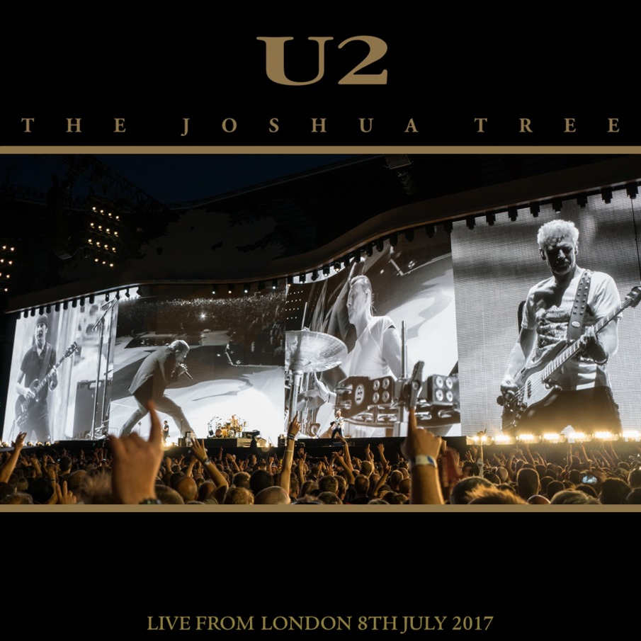 U2start com | Joshua Tree 2017 Tour CD/DVD Covers